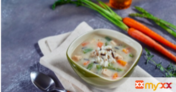 Cream of Chicken Wild Rice Asparagus Soup