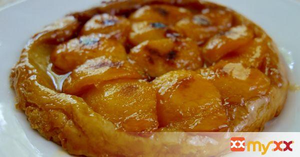 Peach Tart Tatin
