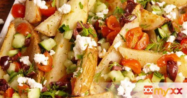 Greek Potato Wedges