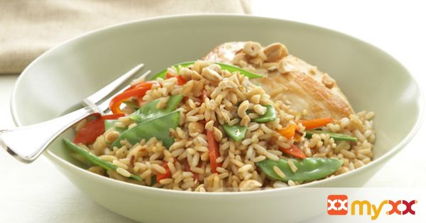 Thai-Style Chicken with Rice