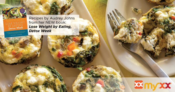 Muffin Cup Veggie Omelettes