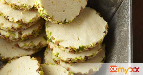 Pistachio Cream Cheese Sugar Cookies