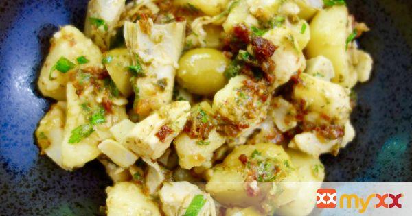 Halibut Potato Salad