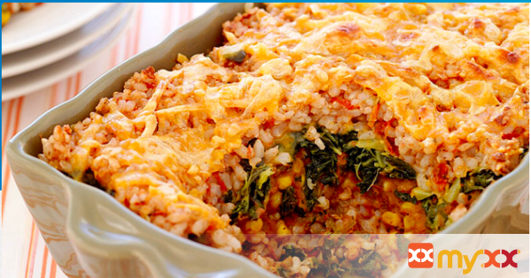 Weight Watchers Mexican-Style Brown Rice Casserole