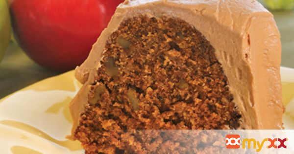 Cocoa Apple Cake