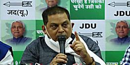 जदयू बोली, राजद और कांग्रेस श्वेत पत्र जारी कर बताए कि उनके राज में कितने अपहरण हुए, इस बार मुकाबला कैदी राज बनाम कानून राज में है