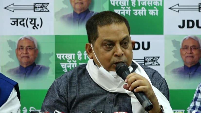 एनडीए का चिराग पर हमला, कहा- चिराग पासवान राजनीतिक वजूद बचाने के लिए तेजस्वी के शरण में चले गए हैं