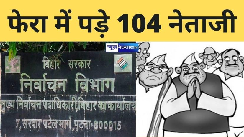 चुनाव आयोग का बड़ा एक्शन, 104 उम्मीदवारों को भेजा नोटिस, आपराधिक केसों की जानकारी अखबारों में नहीं देने का आरोप