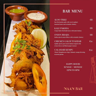 Naanbar Instagram Friday Meal
