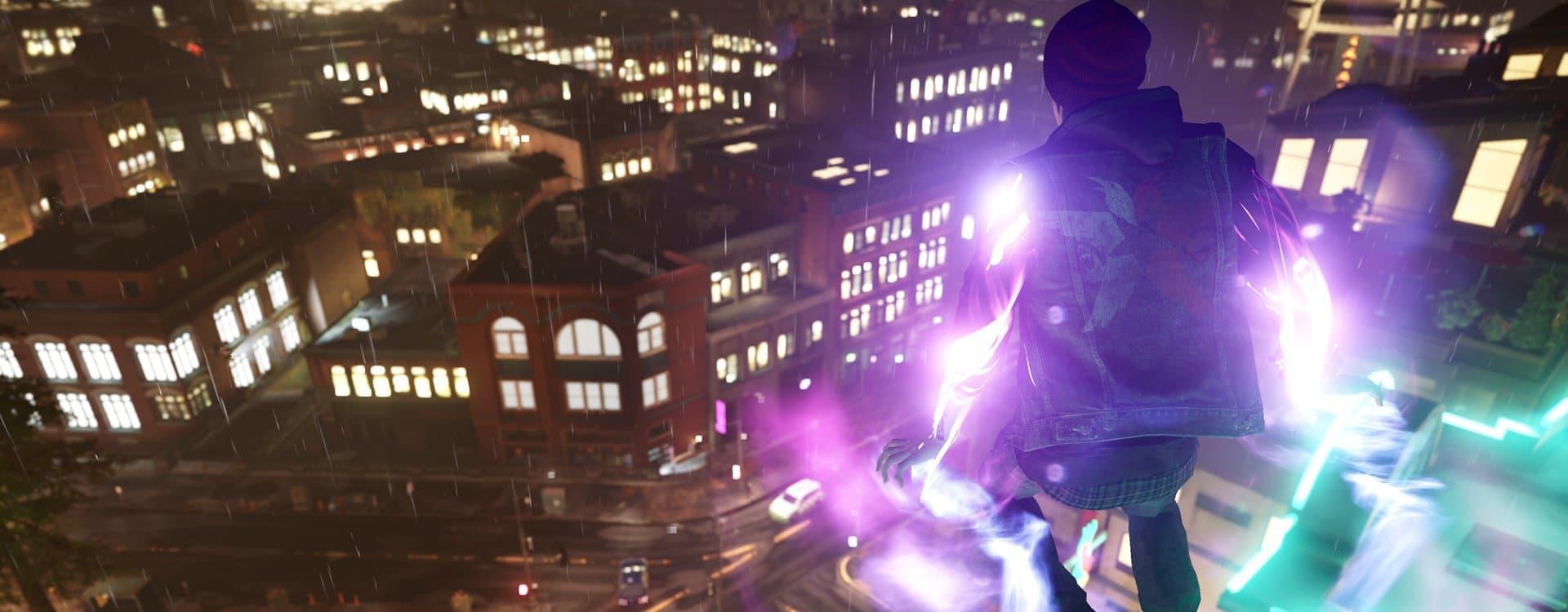 В играх серии inFamous игрок открывает и закрывает разные способности и сюжетные элементы, продвигаясь по шкале кармы