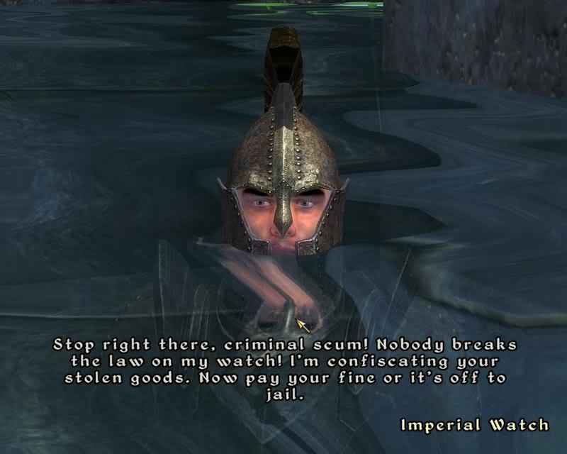 Имперский страж не поощряет хаотичное поведение