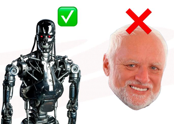 robots no humanos