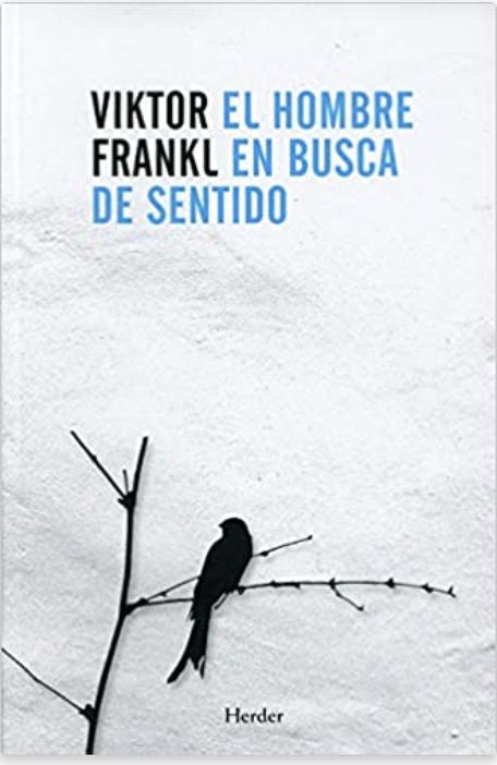 cover blanco del libro el hombre en busca de sentido