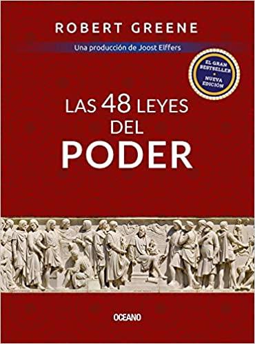 cover rojo del libro 48 leyes del poder
