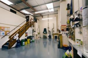 NACS training facilities