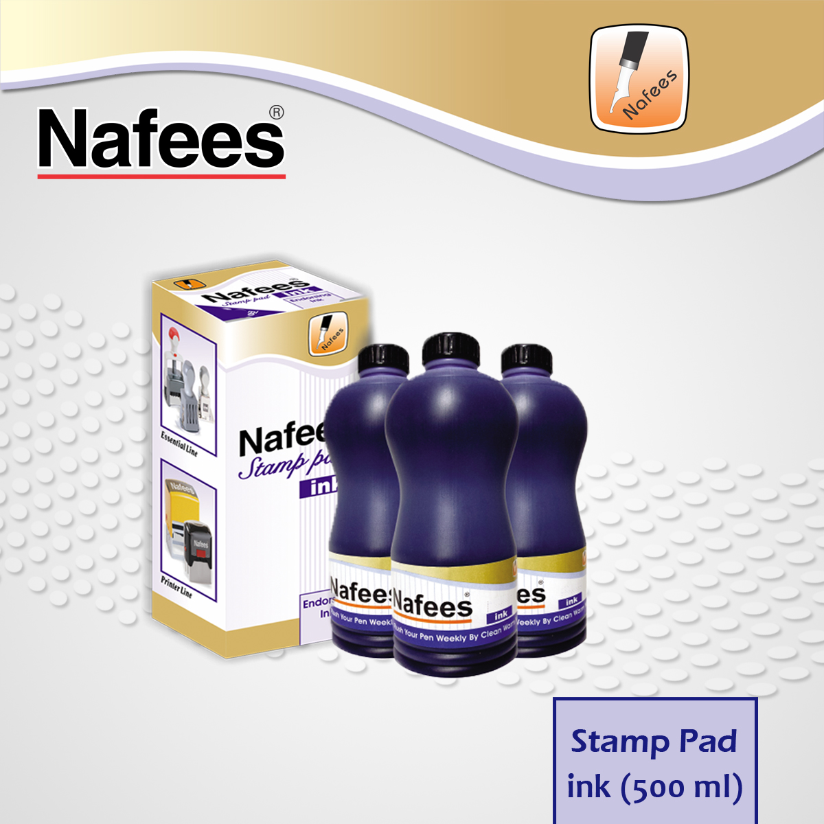 Stamp Pad Ink 500ml