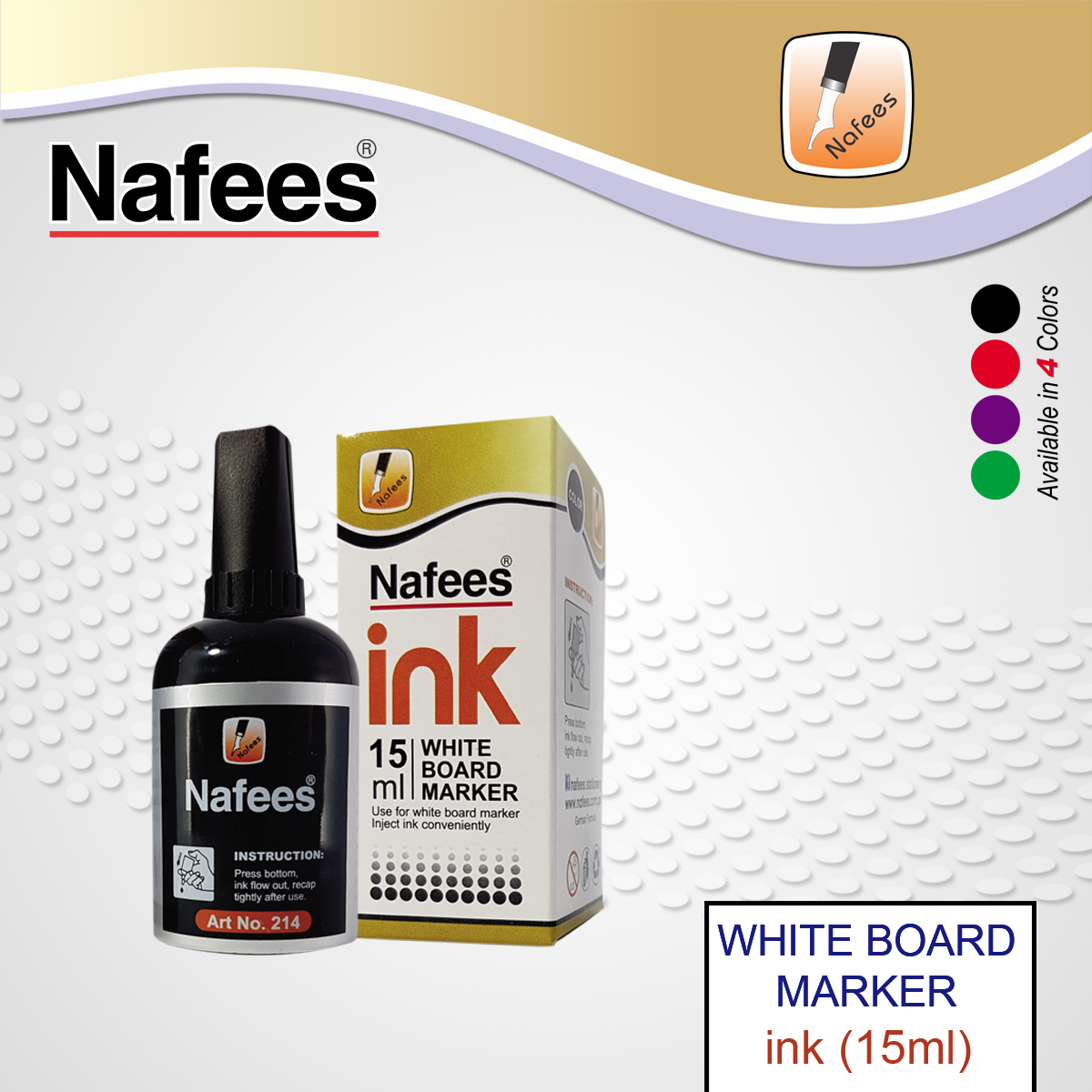 White Board Marker Ink 15ml