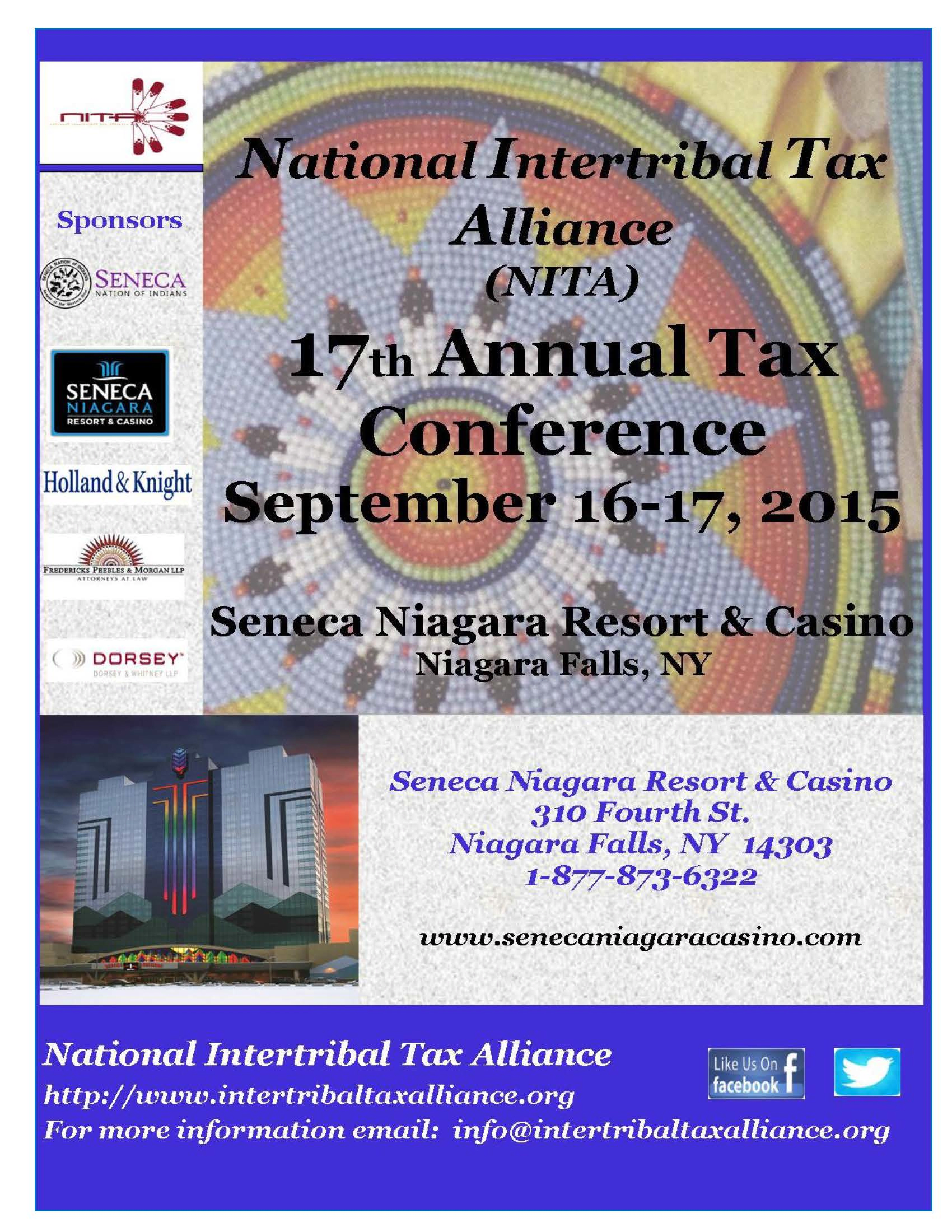 National Intertribal Tax Alliance (NITA) Annual Tax Conference