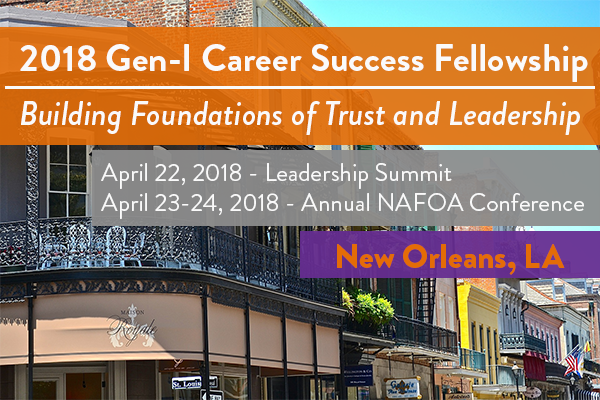 2018 Gen-I Career Success Fellowship Program Updates