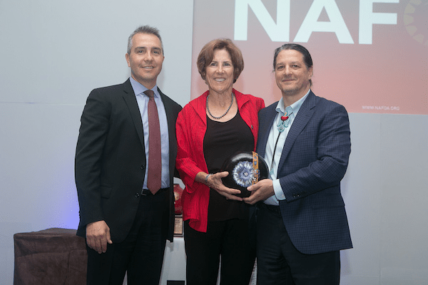 NAFOA Honors Kathleen Nilles for Years of Service to Indian Country