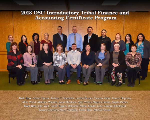 OSU Tribal Finance and Accounting Program