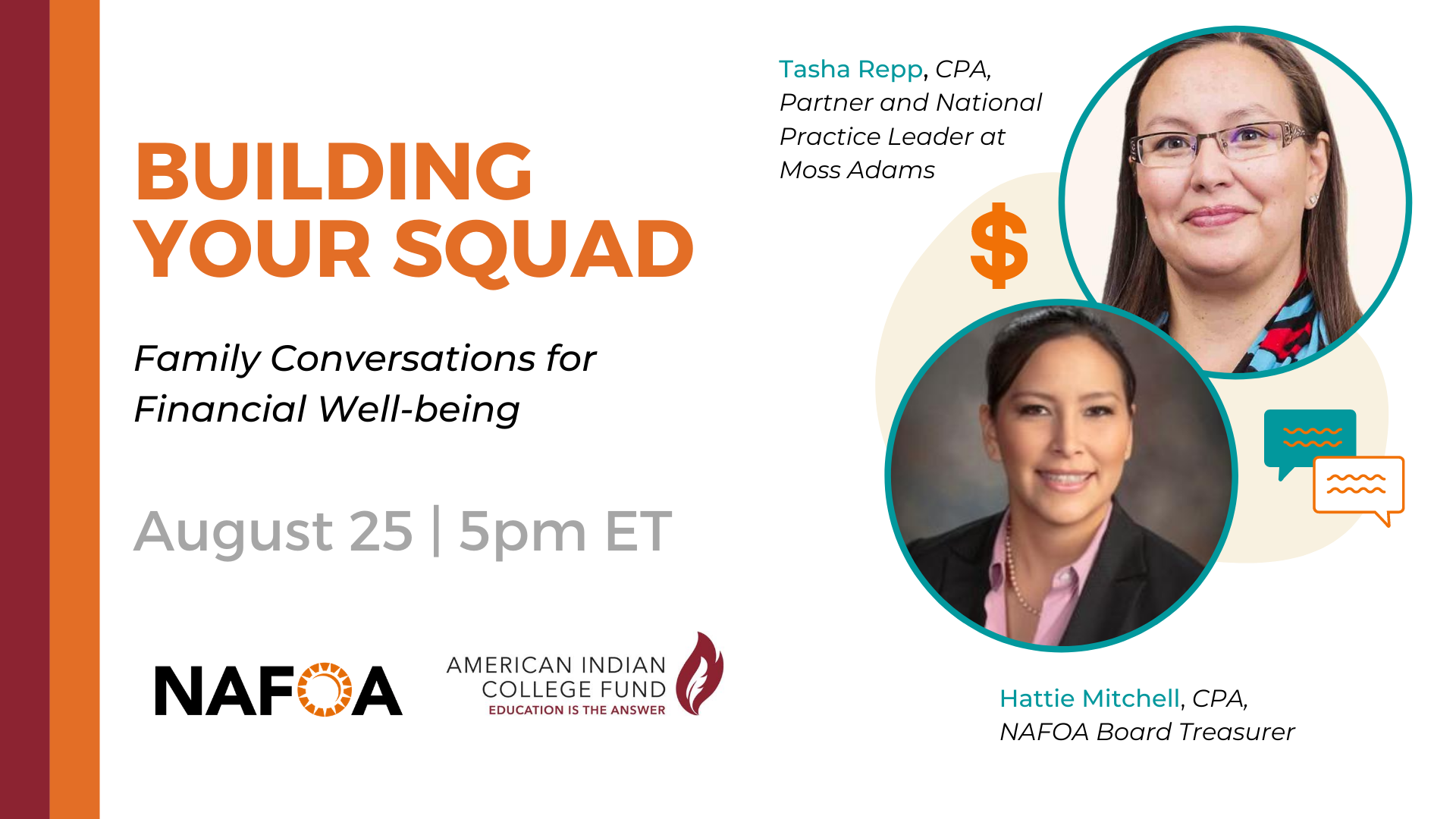 Webinar: Building Your Squad: Family Conversations for Financial Well-Being