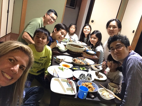 Gery from the US with family of six with four kids