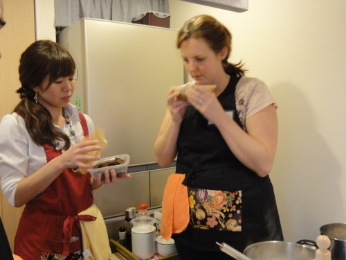 Nagomi Kitchen cooking lesson
