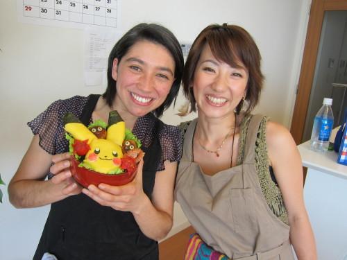 New Nagomi Visit kyaraben class teacher