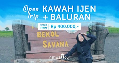 Open Trip Ijen Baluran