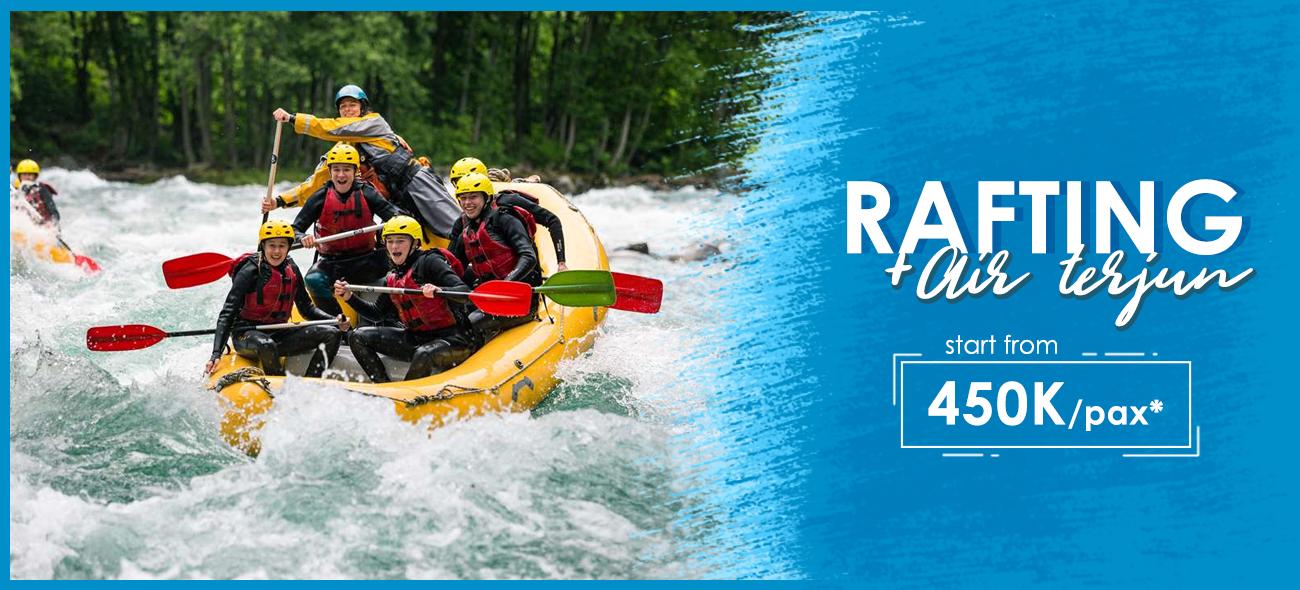 Paket Wisata Rafting di Malang