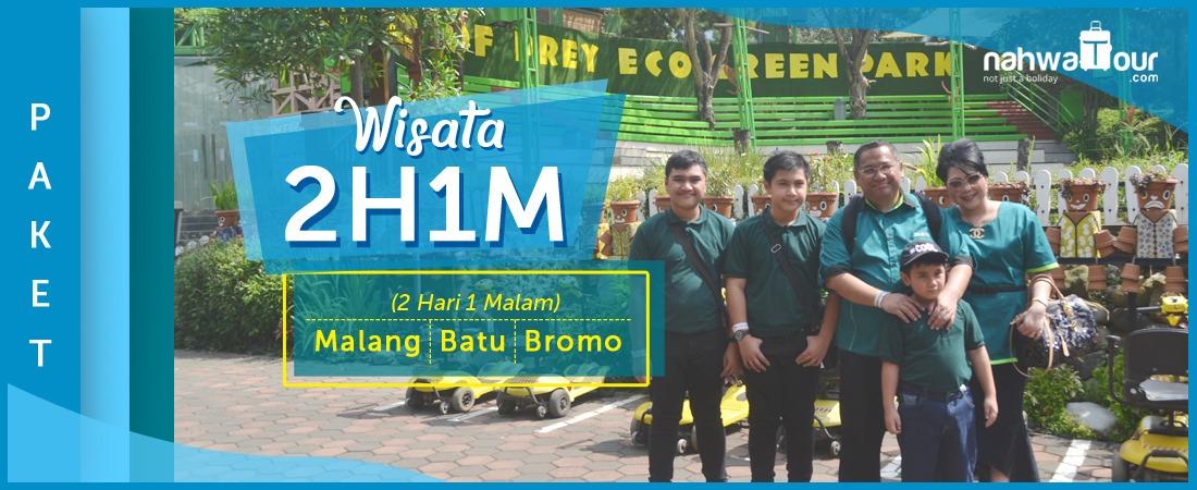 PAKET WISATA MALANG BATU BROMO 2H 1M