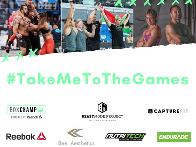 #TAKEMETOTHEGAMES 2018