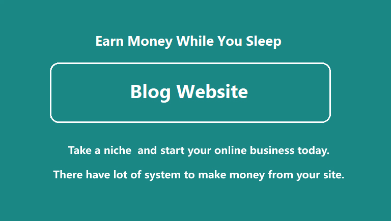 Create a blog website post article and start your online business today