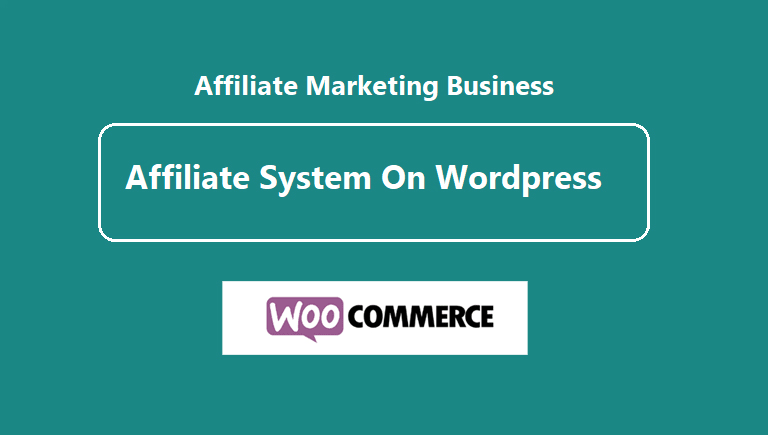 Add Affiliate Program system on your ecommerce store