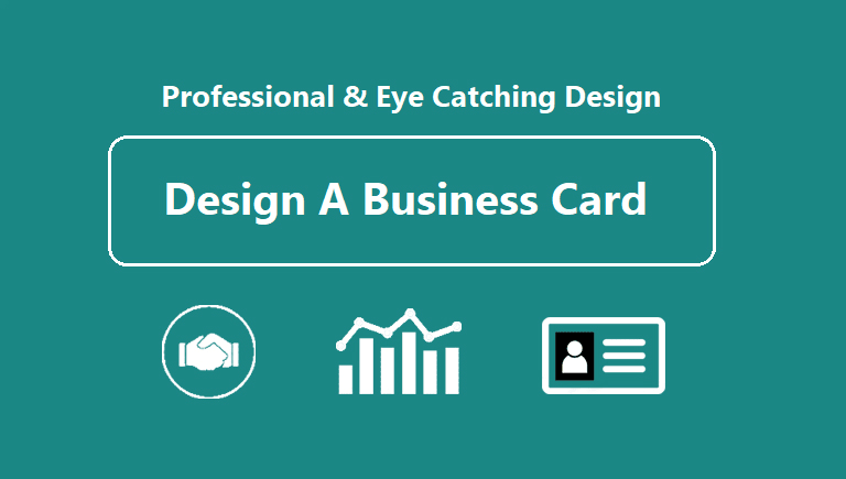 Design Eye Catching Double Sided Business Card