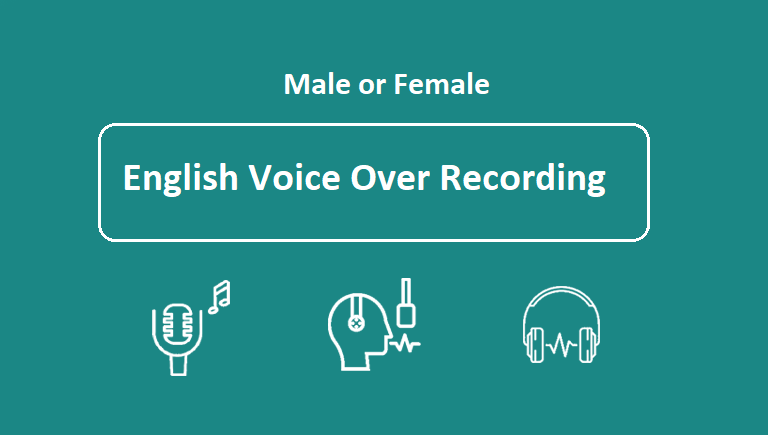 Record a smooth american male or female voiceover