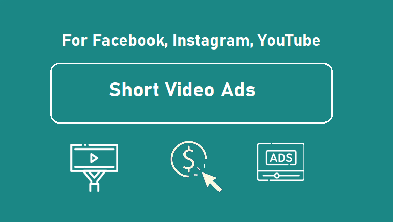 Create short video ads for facebook, instagram, or products