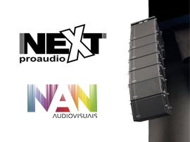Next-proaudio e NAN Audiovisuais anunciam parceria em Portugal