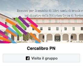 Gruppo Facebook Cercalibro PN