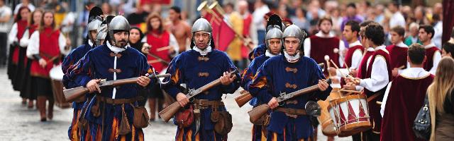 Visegrádi Palotajátékok - lovagi torna