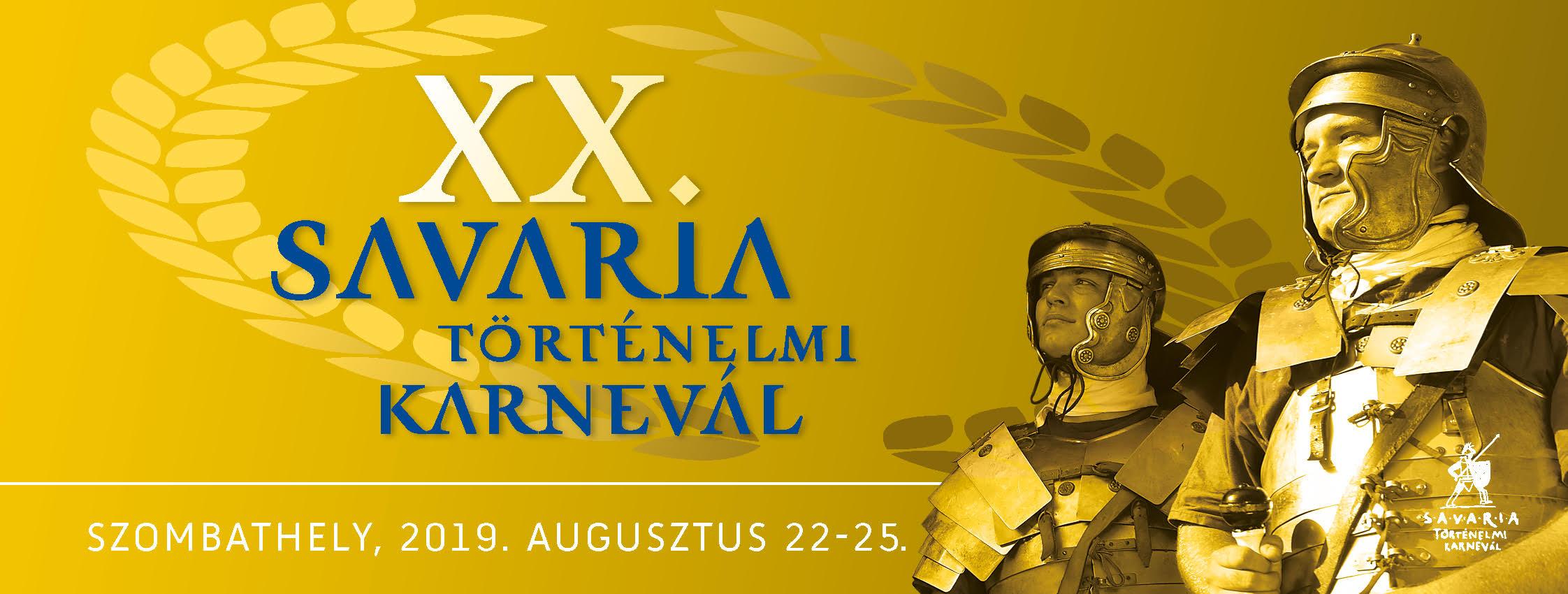 Savaria Történelmi Karnevál 2019-ben is Szombathelyen