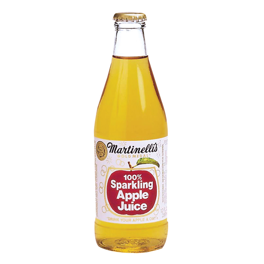 Martinelli S Sparkling Apple Juice 10 Oz Bottle