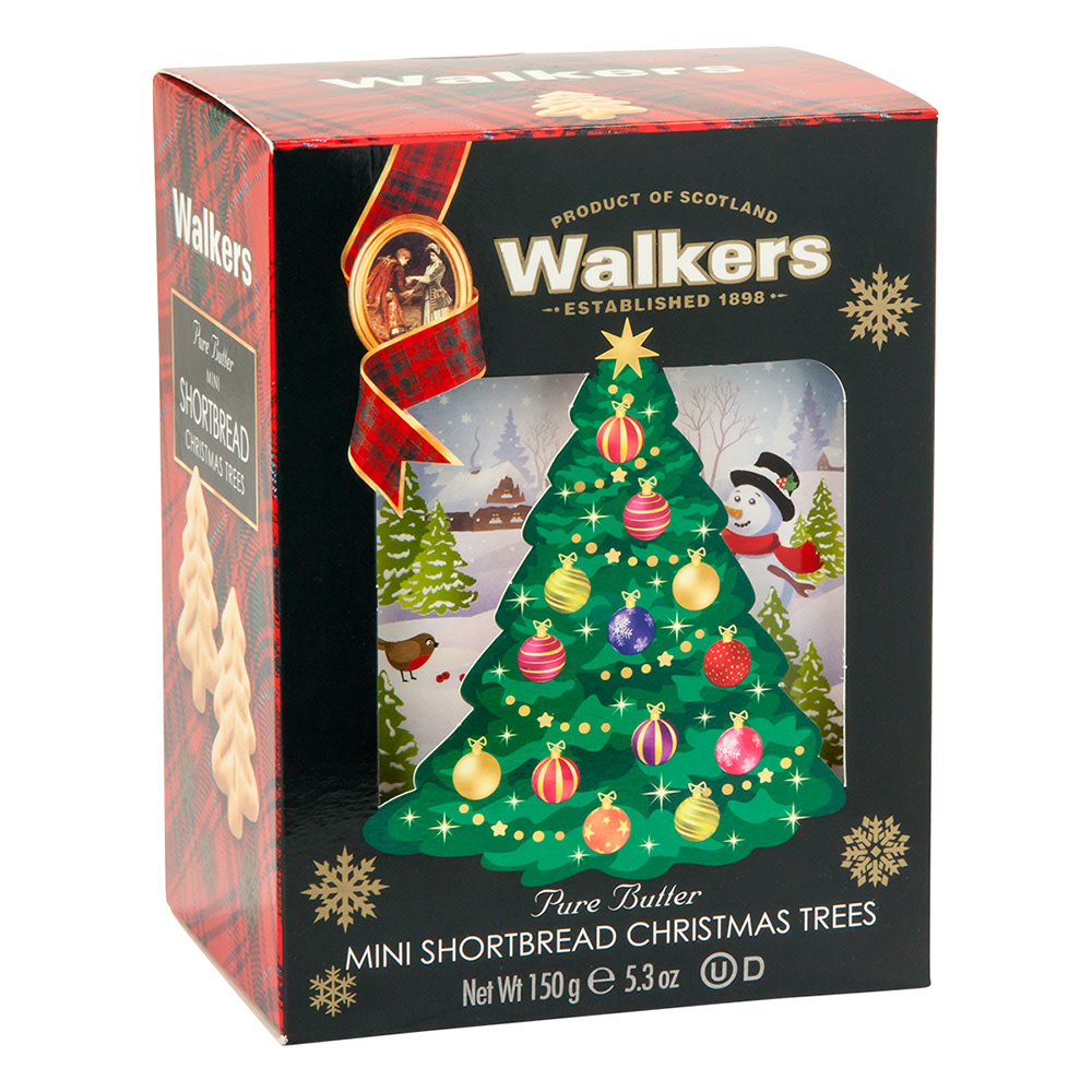 Walkers Shortbread Mini Christmas Tree Cookies 5 3 Oz Box