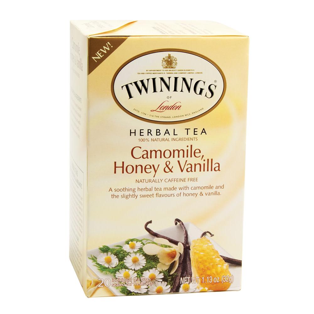 TWININGS CAMOMILE HONEY AND VANILLA TEA