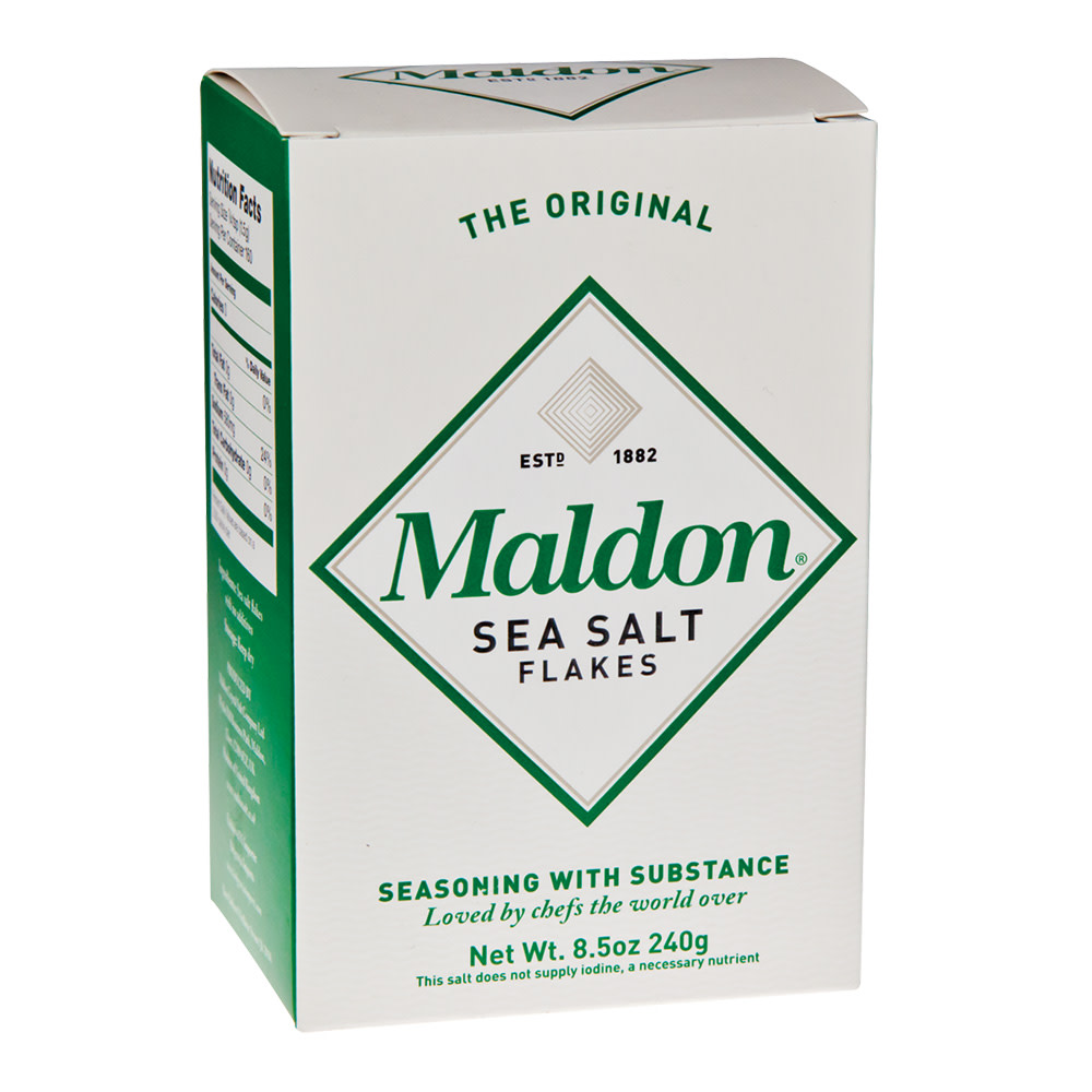 MALDON SEA SALT FLAKES 8 5 OZ BOX