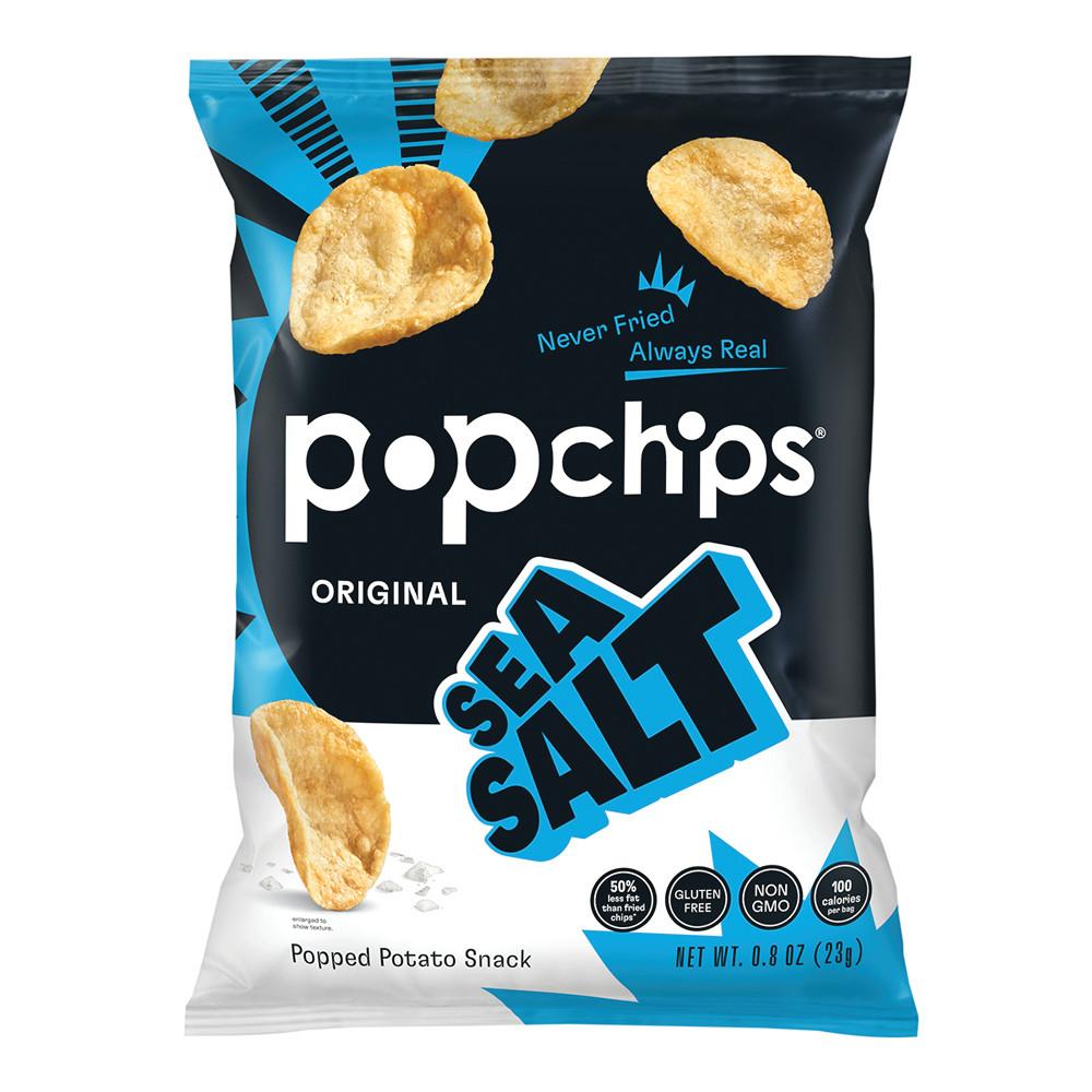 POPCHIPS SEA SALT POTATO CHIPS 0 8 OZ BAG