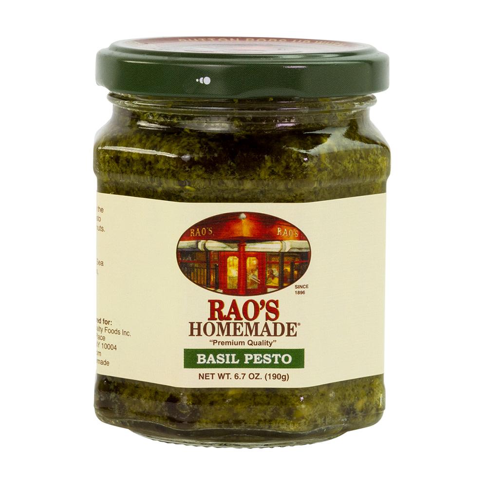 Rao S Basil Pesto Sauce 6 7 Oz Jar