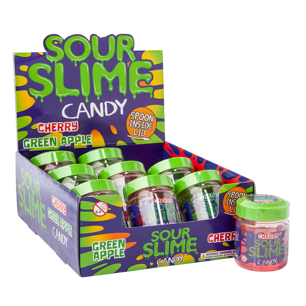Sour Slime Candy 3 5 Oz