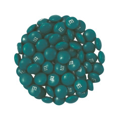 M&M'S COLORWORKS TEAL GREEN